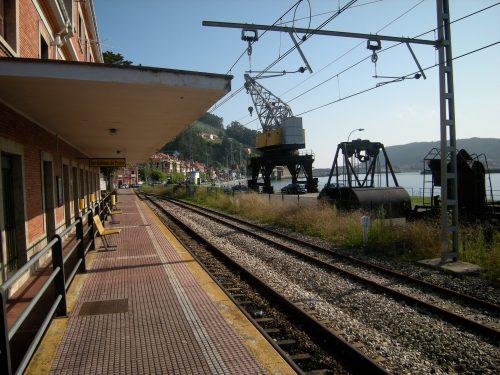 Estación de ferrocarril de San Esteban FEVE