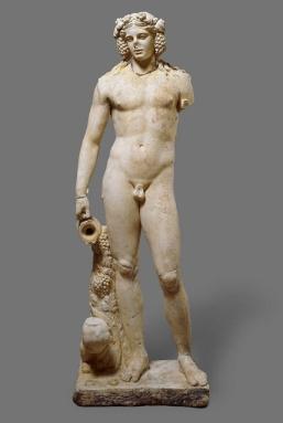 Baco. Escultura romana