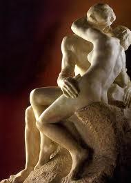 El beso. Rodín. Escultura romántica