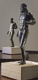 Bronces de Riace. Escultura griega
