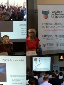 Carmen Alvarez Herrero, durante su presentación.